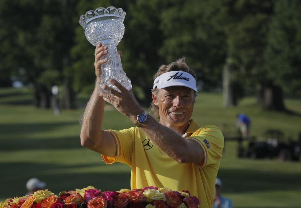 syntheticgrass Bernhard Langer Triumph at Belmont. Magic Week.