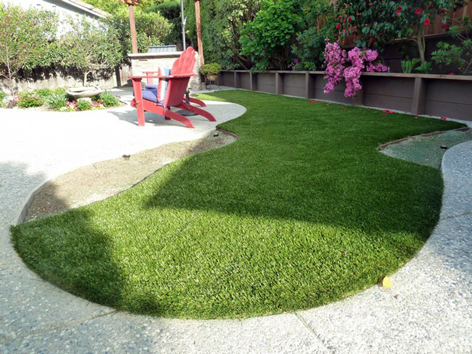 Installing artificial grass gold river california lawn for Lawn and garden landscaping ideas