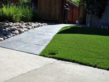 Artificial Grass Photos: Artificial Turf Covelo, California Roof Top, Front Yard