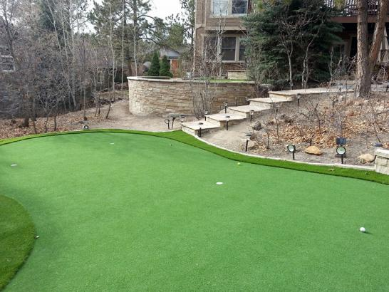 Artificial Grass Photos: Artificial Turf Installation Capitola, California Backyard Putting Green, Backyard