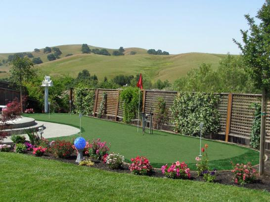 Artificial Turf Installation San Jose, California Putting Green Turf, Beautiful Backyards artificial grass