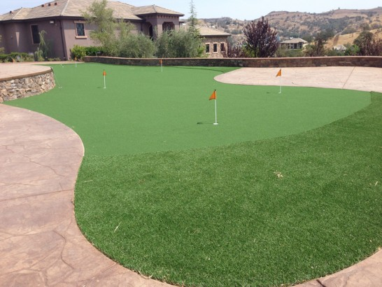 Artificial Grass Photos: Fake Turf Elkhorn, California Indoor Putting Green