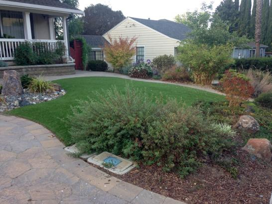 Fake Turf Suisun, California Lawns, Front Yard artificial grass