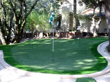Artificial Grass Photos: Faux Grass Auburn, California Putting Greens, Backyard