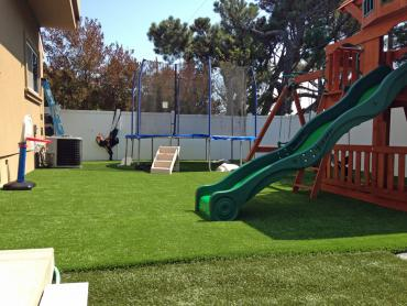 Artificial Grass Photos: Faux Grass Pasatiempo, California Paver Patio, Backyard Landscape Ideas