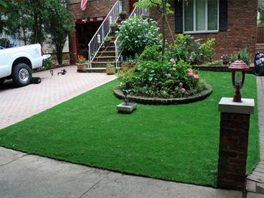 Artificial Grass Photos: Green Lawn East Oakdale, California, Front Yard Landscaping Ideas
