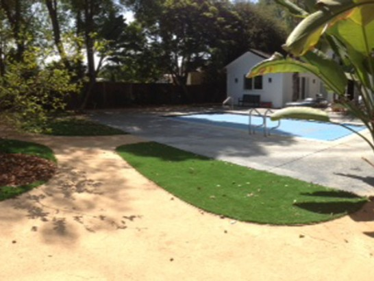 Installing Artificial Grass Chualar, California Backyard Deck Ideas, Backyard Ideas artificial grass