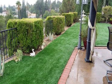 Artificial Grass Photos: Installing Artificial Grass Loma Rica, California Paver Patio, Backyard