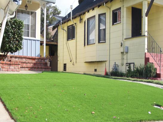 Artificial Grass Photos: Lawn Services Vacaville, California Paver Patio, Front Yard Landscaping