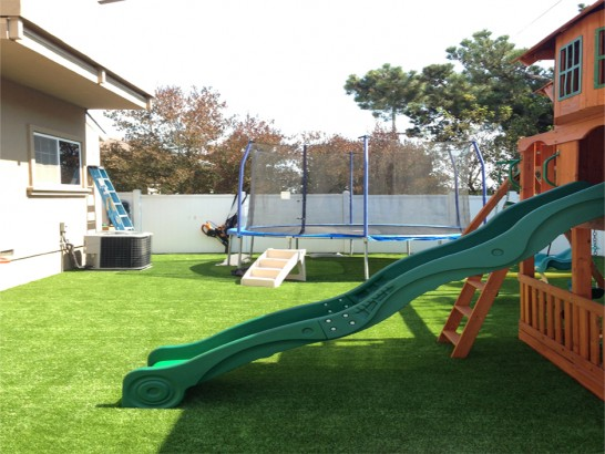 Artificial Grass Photos: Synthetic Grass Carmichael, California Landscape Rock, Backyard