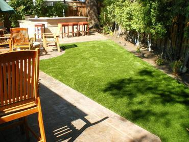 Artificial Grass Photos: Synthetic Grass Cost Los Altos, California Backyard Deck Ideas, Backyard Ideas