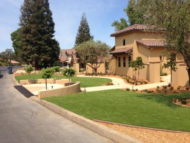Artificial Grass Photos: Synthetic Grass Cost Winters, California Landscape Rock, Front Yard Design