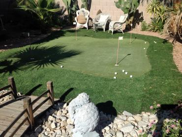 Artificial Grass Photos: Synthetic Grass Madera Acres, California How To Build A Putting Green, Backyard Landscape Ideas