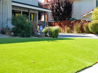 Artificial Grass Photos: Synthetic Turf Oakhurst, California Roof Top, Front Yard Landscaping